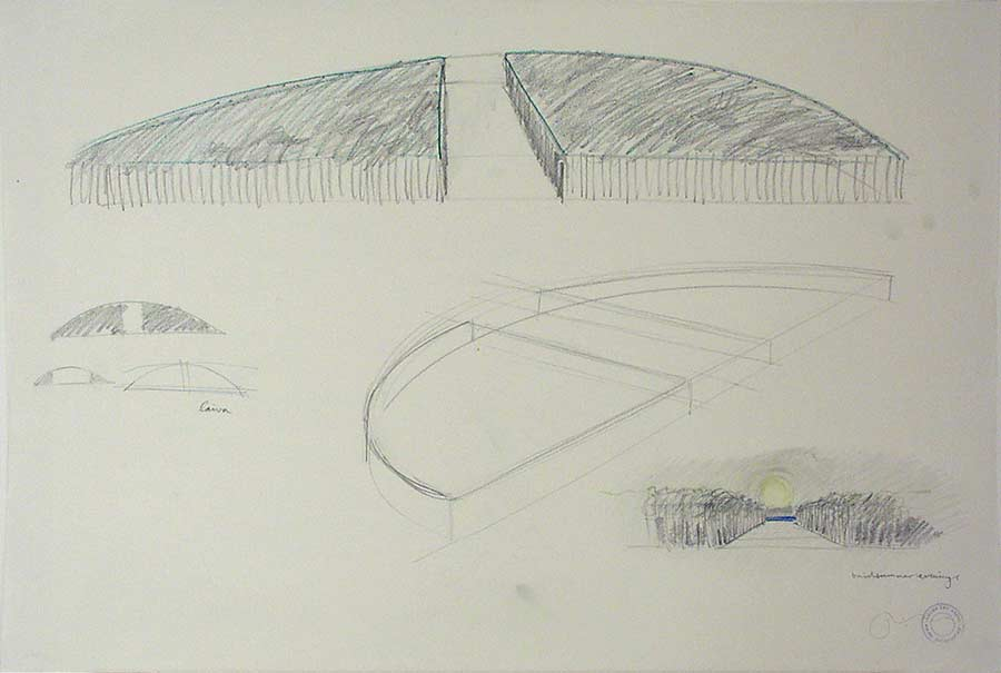 URBAN LAND ART - a concept sketches for a land fill