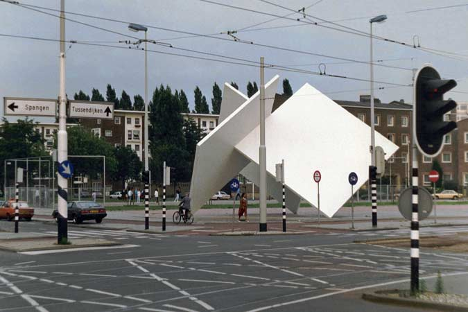 Urban sculptures and land art - site specific- as well as free standing sculptures- in cities.