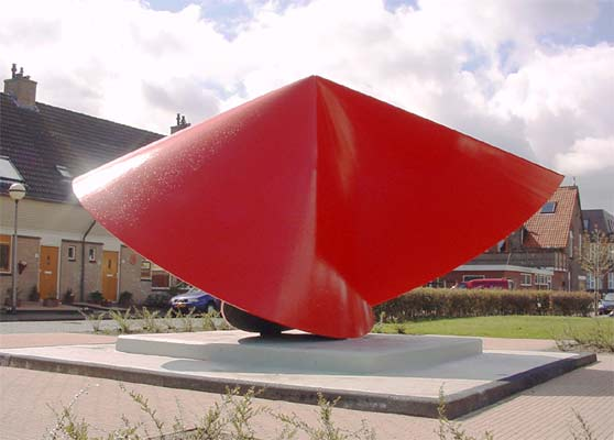 public art - site specific sculpture in Zwijndrecht Holland