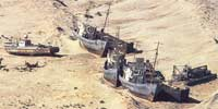 the Aral Sea is going dry due to bad management