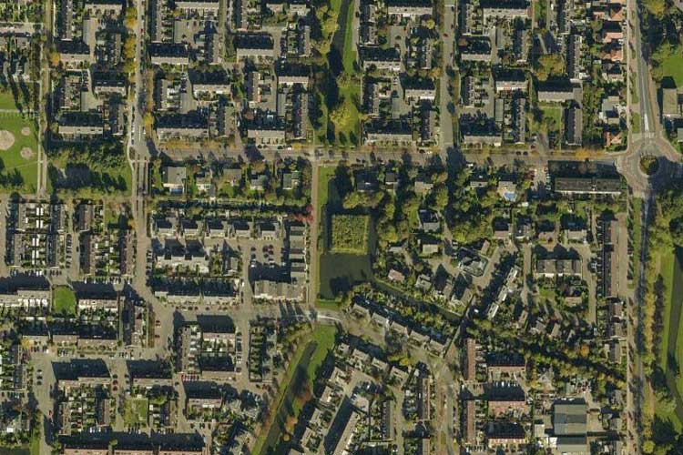 Satellitepictures Of Sculpture In Barendrecht Environmental And - Satellite view