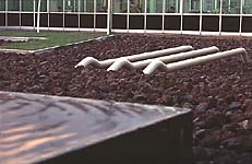 Tilataide - Dordrecht, Alankomaat. Environmental sculpture and landscape design - site specific works, installations and projects